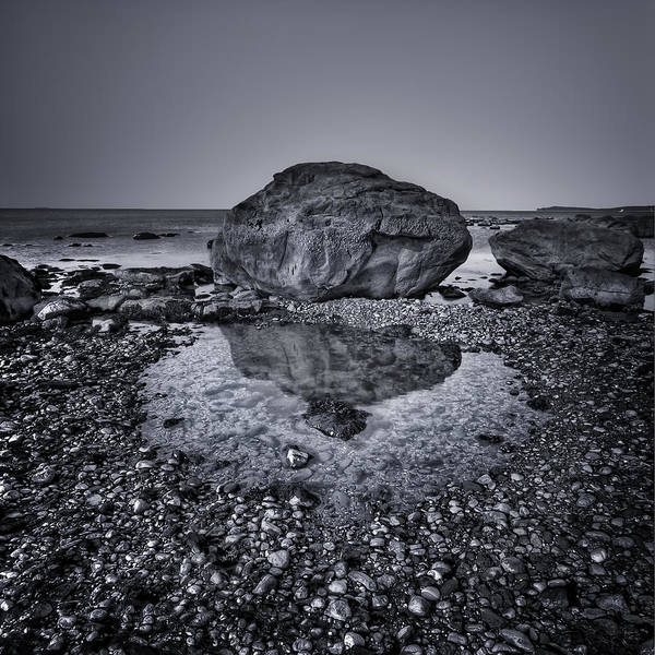 Rock Art Print featuring the photograph Liquid State by Evelina Kremsdorf