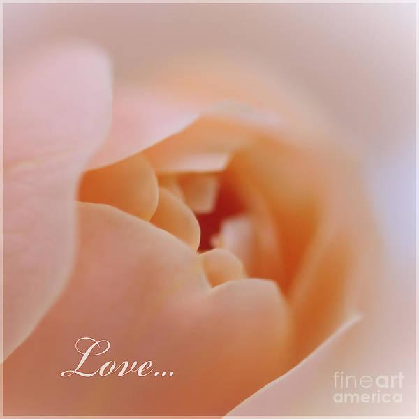 Rose Art Print featuring the photograph Love... by Katja Zuske