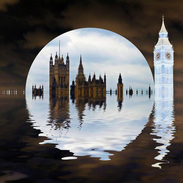 London Art Print featuring the photograph Manipulated Politics by Sharon Lisa Clarke