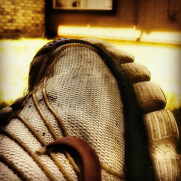 Instagram Print featuring the photograph Old Dirty Sneaker by Tony Ramos