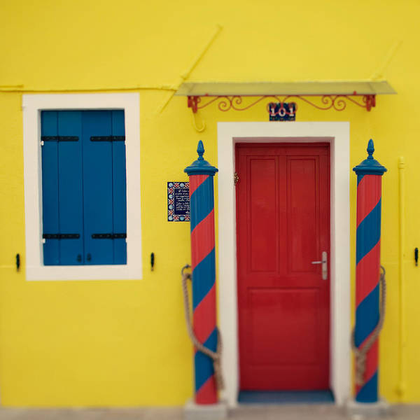 Italy Art Print featuring the photograph Primary Colors by Irene Suchocki