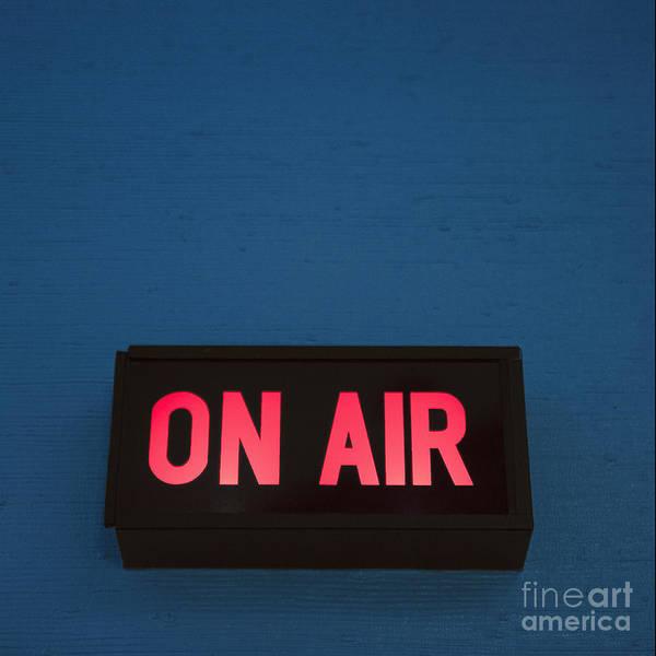 Radio Station On Air Sign Art Print By Will And Deni Mcintyrerhfineartamerica: On Air Radio At Gmaili.net