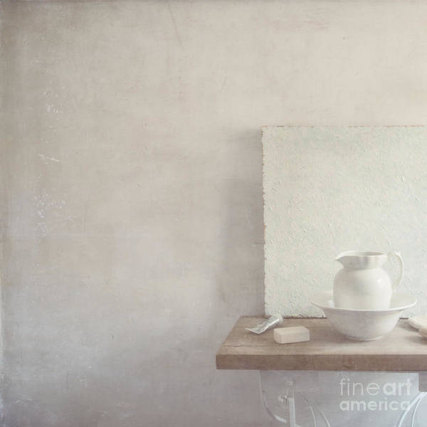 Soap Art Print featuring the photograph Soap And Jug by Paul Grand