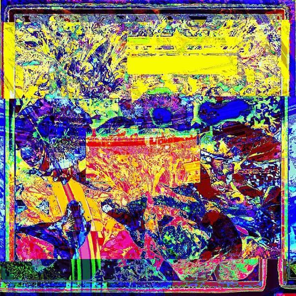 Glitch Art Print featuring the digital art Summer Light by Shane Mohler