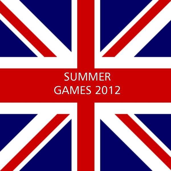 Great Britain Art Print featuring the digital art Summer Olympics In U.k. by Florene Welebny