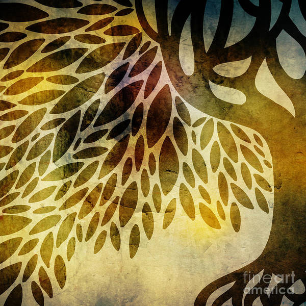 Tree Art Print featuring the digital art Tree by HD Connelly