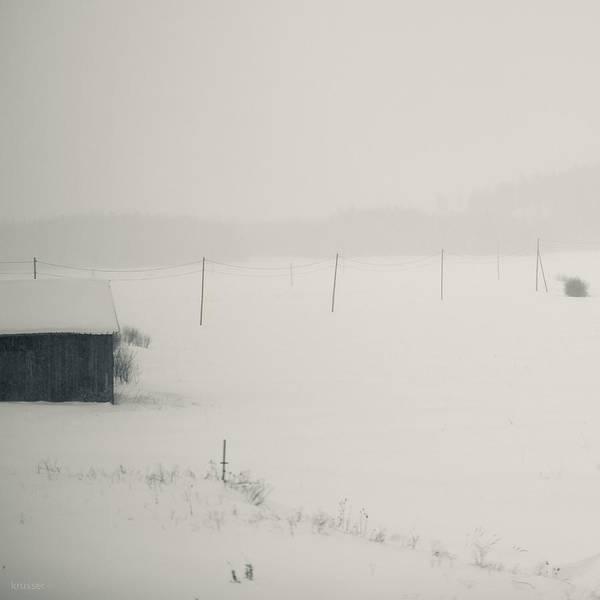 Finland Art Print featuring the photograph Winter World #1 by Nikolay Krusser