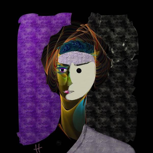 Digital Painting Art Print featuring the digital art yingYANg by Hayrettin Karaerkek