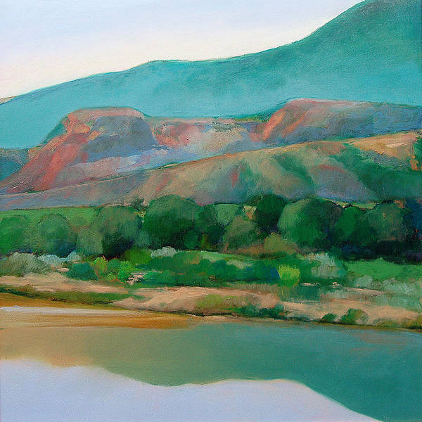 Chama River Art Print featuring the painting Chama River by Cap Pannell