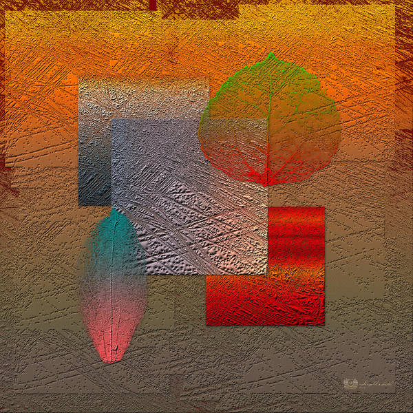 Abstracts By Serge Averbukh Art Print featuring the photograph Quiet Sunset At The End Of Northern Summer by Serge Averbukh