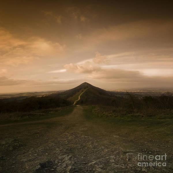 Hill Art Print featuring the photograph The Malvern Hills by Angel Ciesniarska