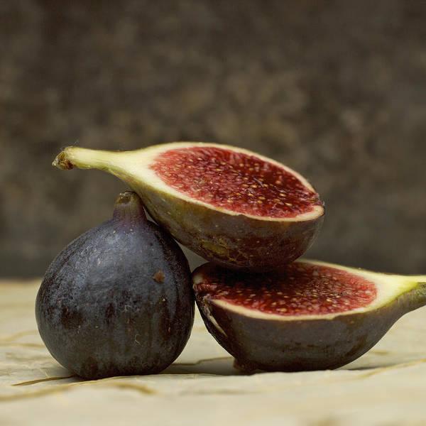 Vitamins Print featuring the photograph Figs by Bernard Jaubert