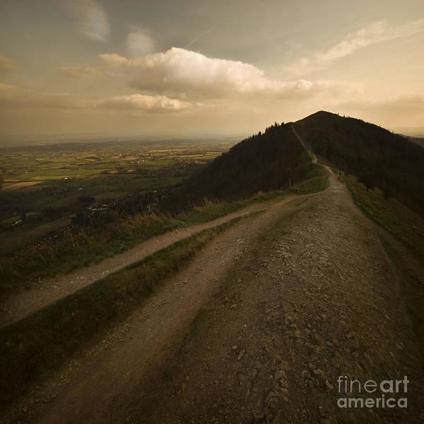 Malvern Hills Art Print featuring the photograph The Malvern Hills by Angel Ciesniarska