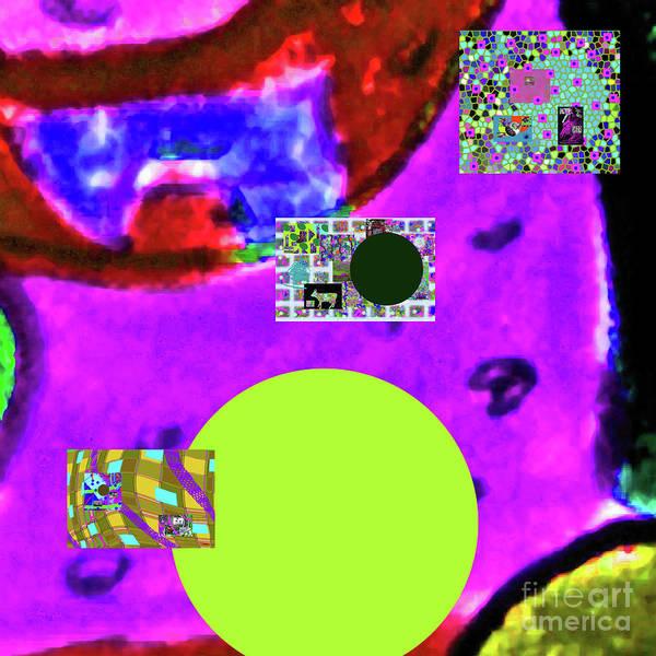 Walter Paul Bebirian Art Print featuring the digital art 7-20-2015dabcd by Walter Paul Bebirian