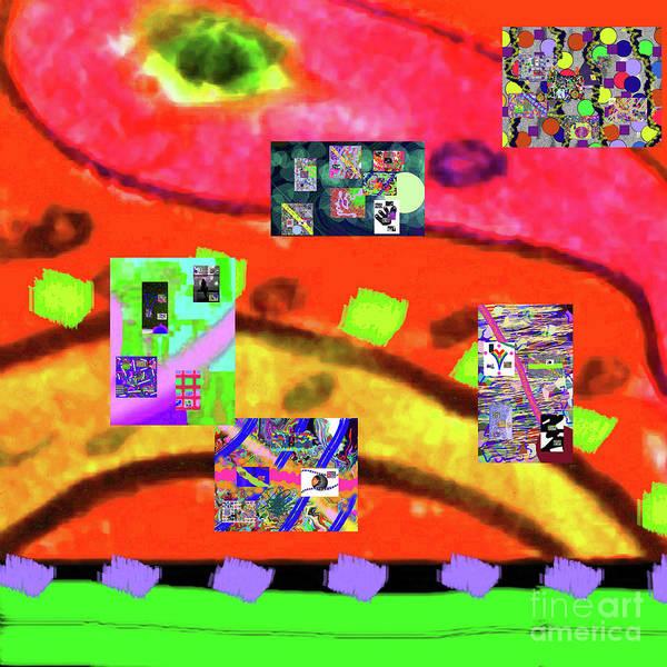 Walter Paul Bebirian Art Print featuring the digital art 9-11-2015abcdefghijklmnopqrtuvwxyza by Walter Paul Bebirian