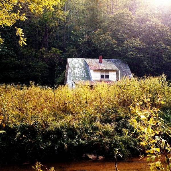Farm Art Print featuring the photograph Abandoned Farm Home by George Ferrell