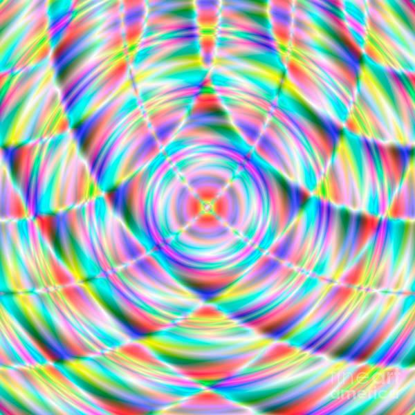 Abstract Art Print featuring the digital art Abstract 722 by Rolf Bertram