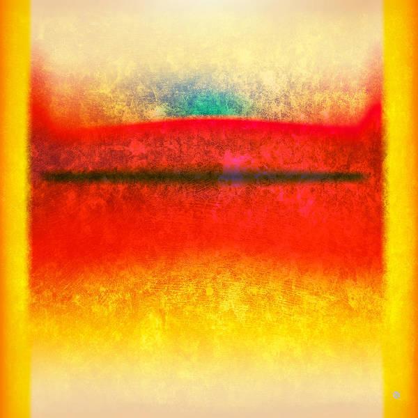 Modern Art Art Print featuring the digital art After Rothko 8 by Gary Grayson