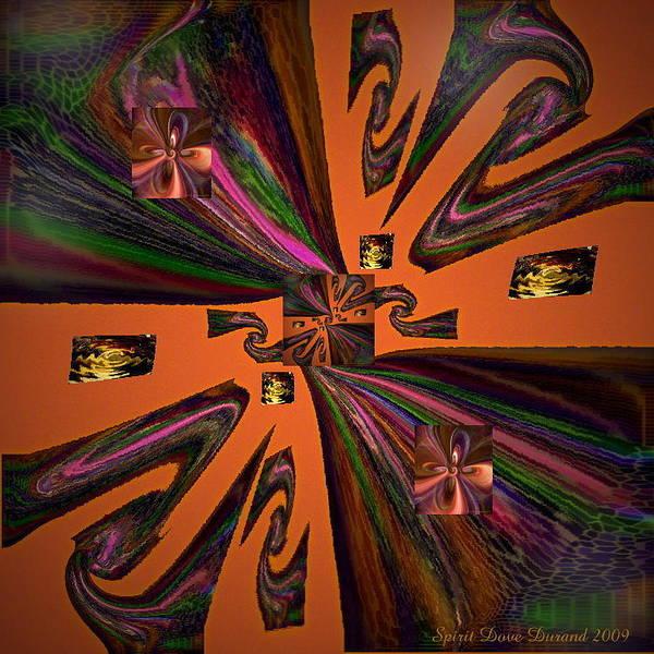 Universe Art Print featuring the digital art Ancient Art by Spirit Dove Durand
