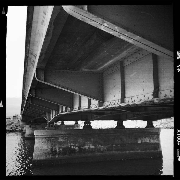 Bridge Art Print featuring the photograph Ballona Creek Bridge by David Chatterton