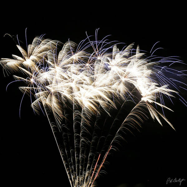 July 4th Art Print featuring the photograph Bright Lights by Phill Doherty