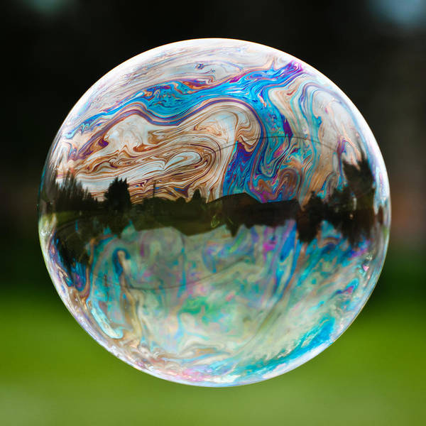 Bubble Art Print featuring the photograph Bubble by Brian Bonham