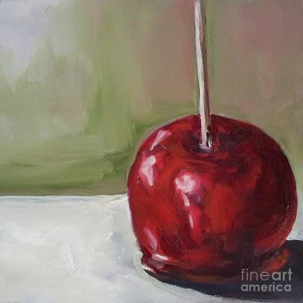 Candy Art Print featuring the painting Candy Apple by Kristine Kainer