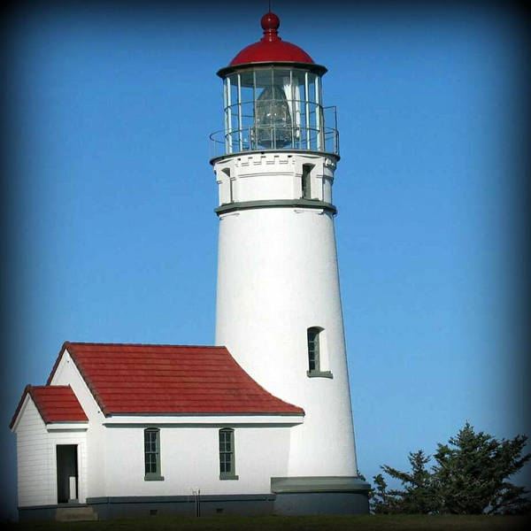 Lighthouse Art Print featuring the photograph Cape Blanco Lighthouse by Arabella Marie