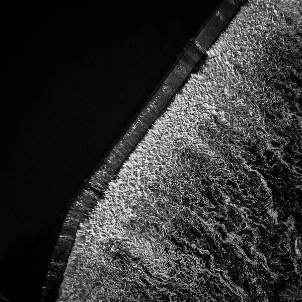Aerial Art Print featuring the photograph Carpentersville Dam by Giovanni Arroyo