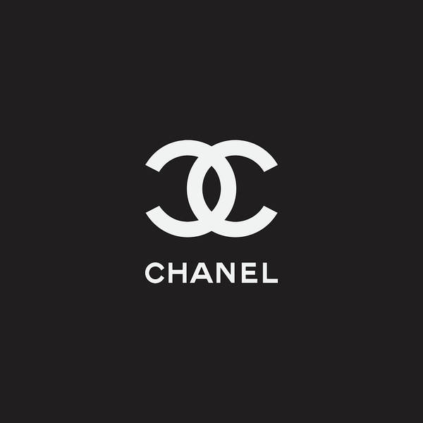 Chanel Art Print featuring the digital art Chanel - Black And White 03 - Lifestyle And Fashion by TUSCAN Afternoon