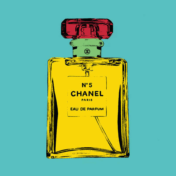 Bottle Art Print featuring the photograph Chnel 2 by Mark Ashkenazi