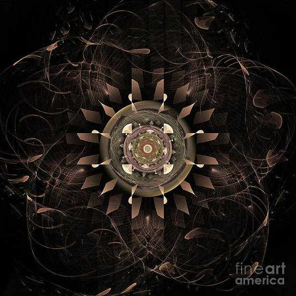 Clockwork Art Print featuring the digital art Clockwork by John Edwards