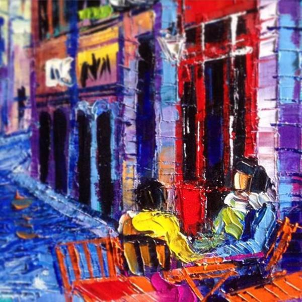 Monaedulesco Art Print featuring the photograph Close Up Shot From My New Series Of 40 by Mona Edulesco