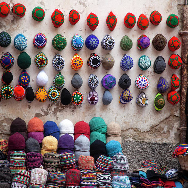 Hat Art Print featuring the photograph Colorful Hats by Henri-Louis ROLAND