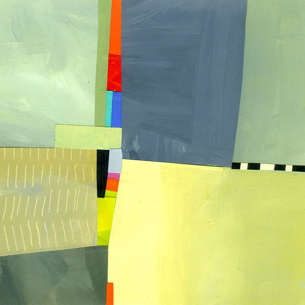Abstract Art Art Print featuring the painting Crevice Or Cravat by Jane Davies