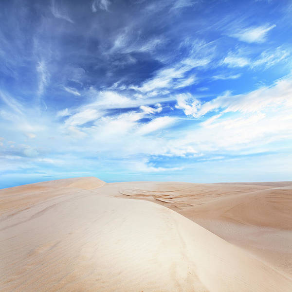 Dunes Print featuring the photograph Desert by MotHaiBaPhoto Prints