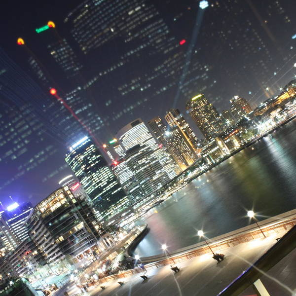 Sydney Art Print featuring the photograph Double Quay by Kirsten Chee