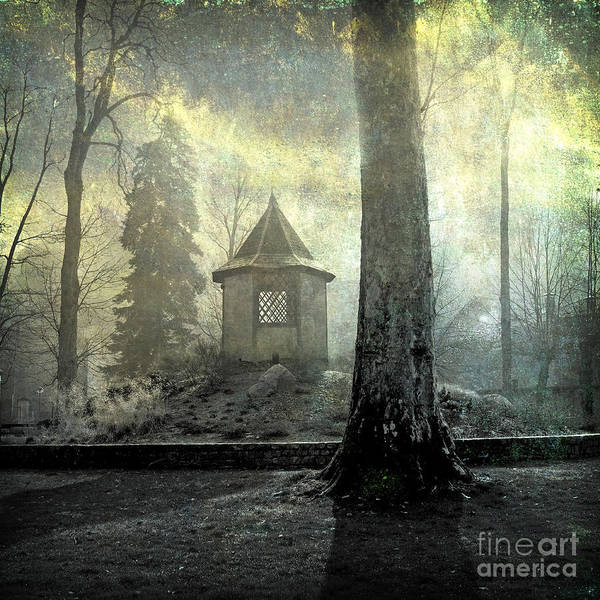 Autumn Print featuring the photograph Dovecote by Bernard Jaubert