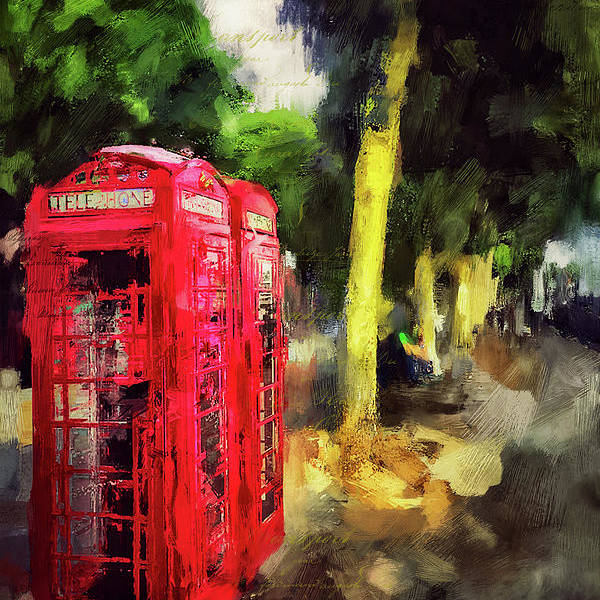 London Art Print featuring the photograph Embankment by Nicky Jameson