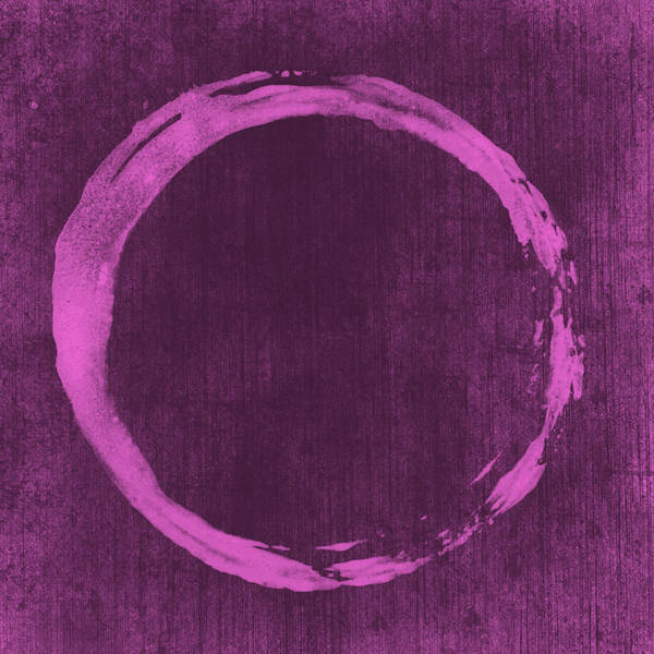 Enso Art Print featuring the painting Enso 4 by Julie Niemela