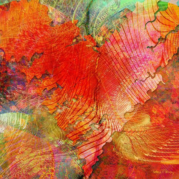 Digital Art Print featuring the digital art Exhilaration by Barbara Berney