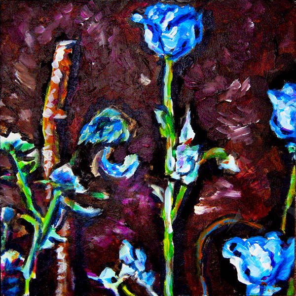 Floral Art Print featuring the painting Flower Culture 197 by Laura Heggestad