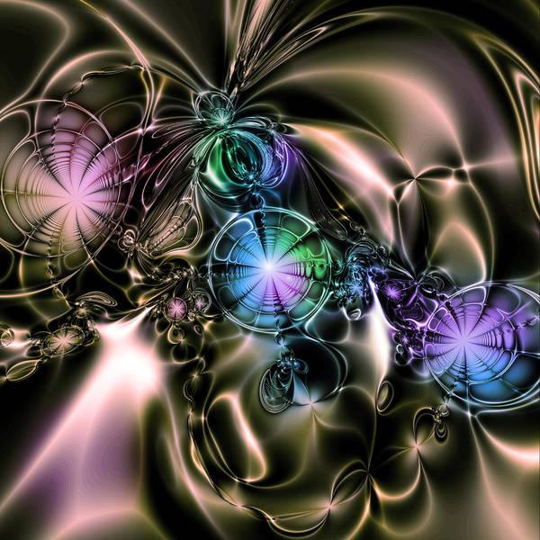 Digital Art Art Print featuring the digital art Gothic V. by Tautvydas Davainis