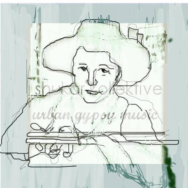 Musician Art Print featuring the digital art Gypsy 2 by Popa Diane-valeria