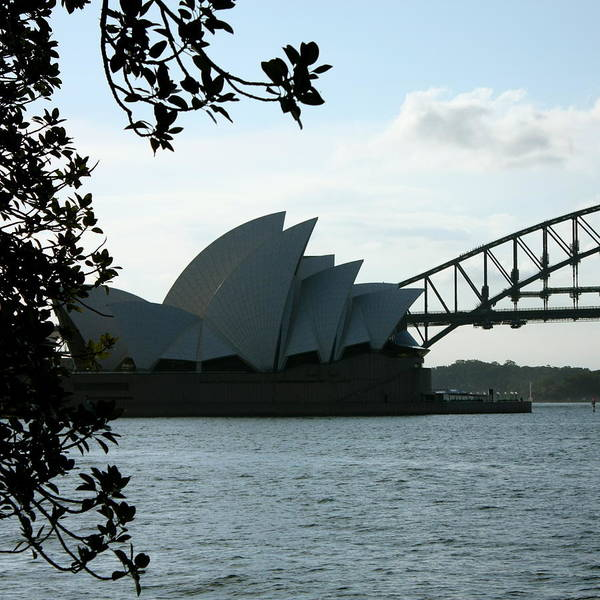 Sydney Art Print featuring the photograph Icon Duo by Kirsten Chee