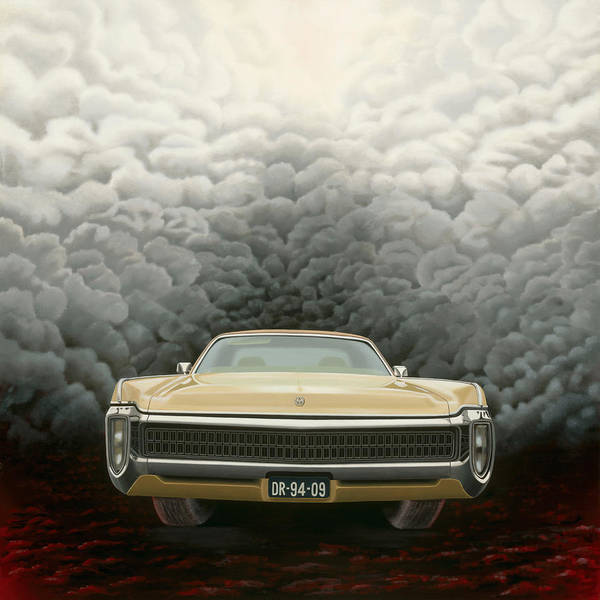 Surreal Art Print featuring the painting Imperial by Patricia Van Lubeck