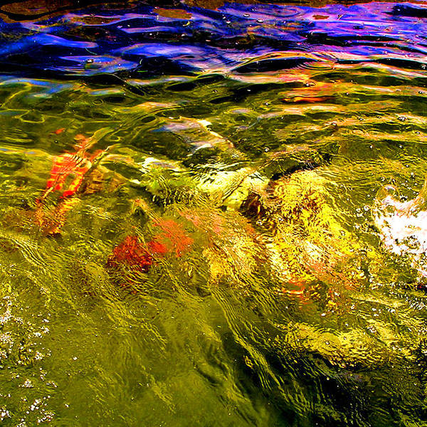 Wave Art Print featuring the photograph In The Flow 2 by Michael Durst