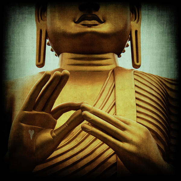 Buddah Art Print featuring the photograph Inner Sanctum by Andrew Paranavitana