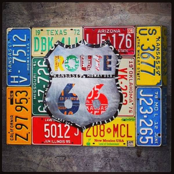 Route66 Art Print featuring the photograph Limited Time Promotion In #october On by Design Turnpike