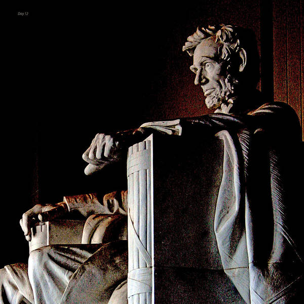 Lincoln Art Print featuring the photograph Lincoln Memorial In Washington D.c. by Day Williams